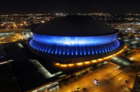 mercedes superdome new orleans stadiums