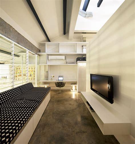 industrial apartment kitchen expressive design showcasing industrial expressive design showcasing geometric shapes