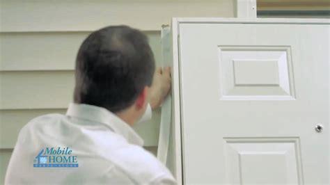 diy exterior door diy combination exterior door installation mobile home