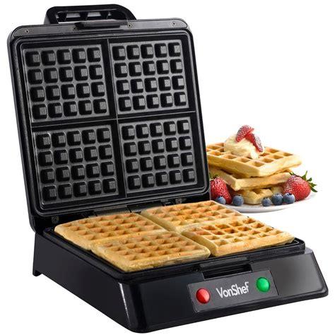Teflon Waffle waffle maker belgian iron in stainless steel non