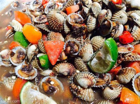 Kerang Remis resipi kerabu kerang pantai remis ala thai mudah dan sedap