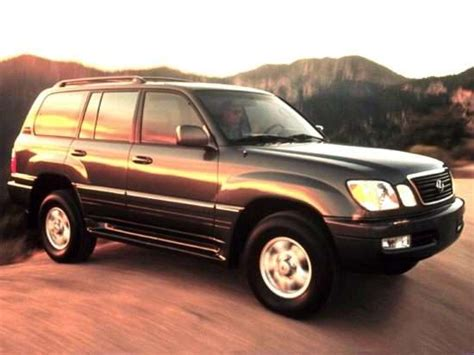 lexus models 2000 2000 lexus lx 470 models trims information and details