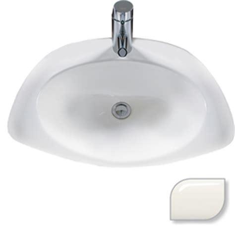 mansfield bathroom sinks shop mansfield reo biscuit bath sink at lowes com