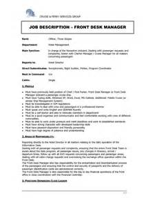 Hotel Front Desk Resume by Doc 5260 Resume Cover Letter Hotel Front Desk 35 Related Docs Www Clever