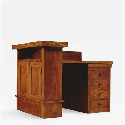 frank lloyd wright desk frank lloyd wright oak desk by frank lloyd wright for