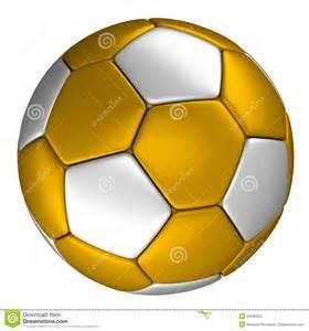 ballon de football d or avec les points argent 233 s d