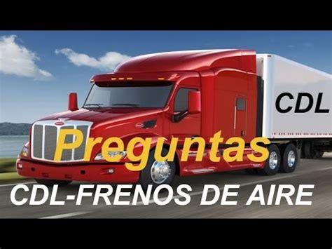 licencia cdl preguntas del examen vehiculos de combinacion licencia comercial cdl en espa 241 ol cdl clase a b c