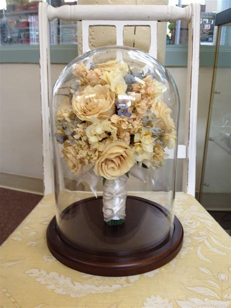 Wedding Bouquet Display Stand by Bridal Bouquet Preserved Flowers Are Dried And Placed In A