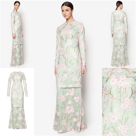 Design Baju Raya 2017 | fesyen trend terkini bianco mimosa alysiella baju kurung