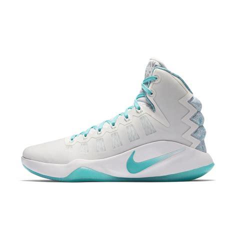 blue womens basketball shoes nike hyperdunk 2016 edd lmtd basketball shoe in blue for