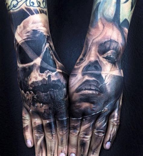 pinterest tattoo portrait skull portrait hand tattoos by jak connolly http