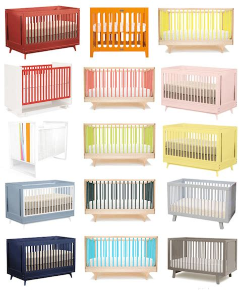 Colored Baby Cribs Cribs In Every Color Of The Rainbow Rent Boston Homes