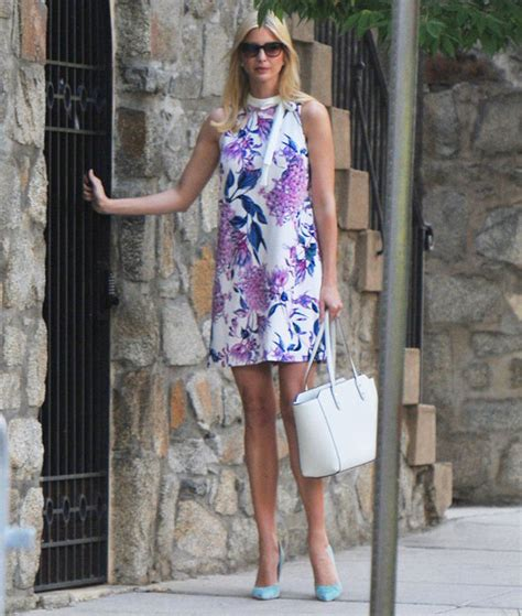 Ivanka Says Donald Is Pretty Normal by Ivanka Donald S Displays Legs Amid