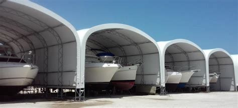 big boat storage fabric structures boat storage