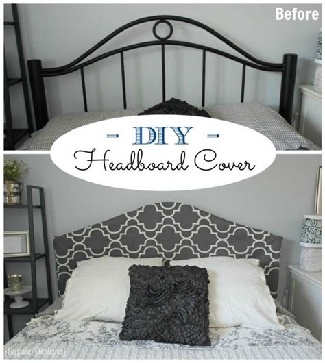 easy no sew headboard slipcover tutorial remodelaholic diy headboards the chandelier and