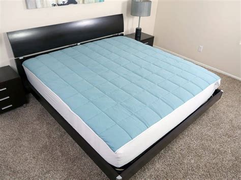Mattress Pad Reviews by Slumber Cloud Nacreous Mattress Pad Review Sleepopolis