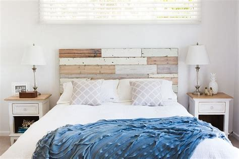 seaside style bedrooms cabeceros de cama ideas ingeniosas con madera