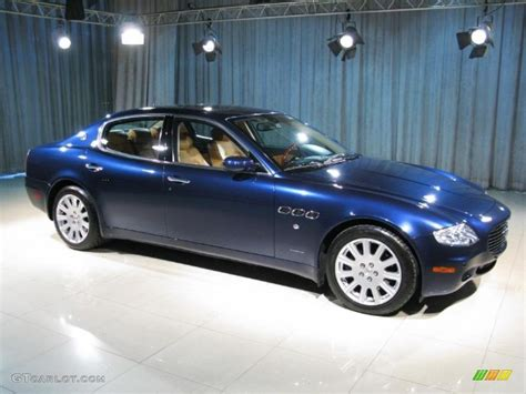 maserati dark blue 2006 dark blue maserati quattroporte 18514499 photo 3