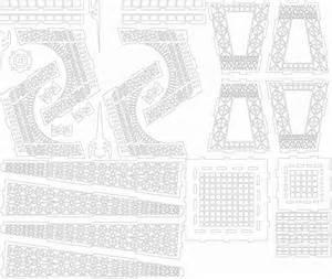 Eiffel Tower Template by Cardboard Eiffel Tower Template Cardboard Eiffel Tower