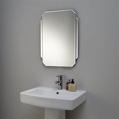 Buy John Lewis Deco Glass Wall Mirror John Lewis Deco Bathroom Mirror