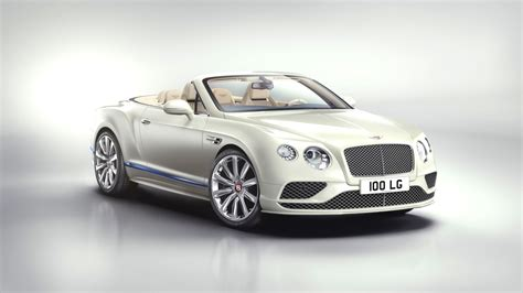 Sparkling White Bentley Convertible Toast To Luxury Yacht