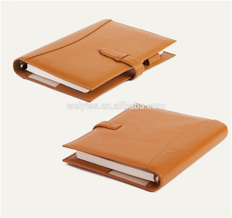 Agenda Note Book 2018 selling leather agenda notebook soft cover
