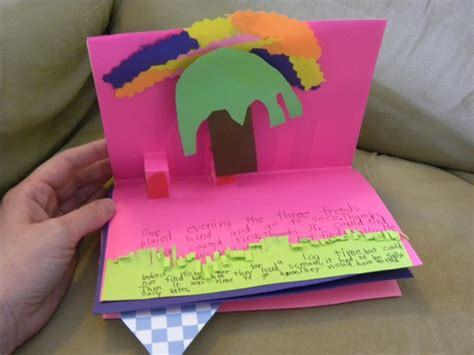 create a picture book how to make a pop up book hobbies on a budget