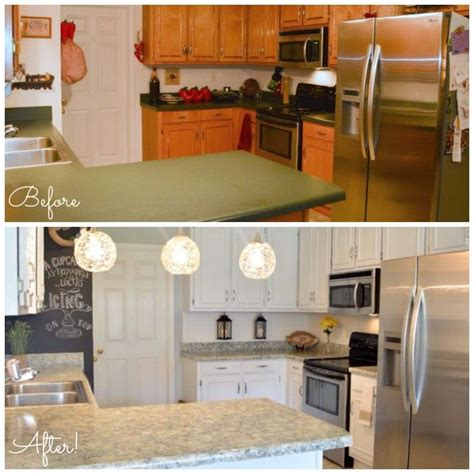 Painting Corian Countertops Best 25 Countertop Makeover Ideas On Cheap