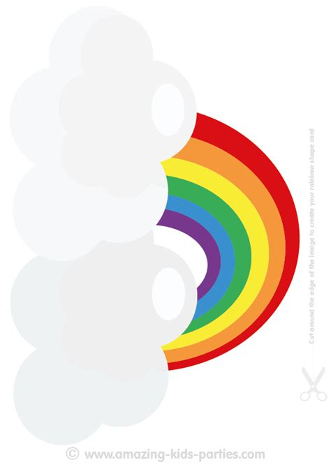 printable rainbow party decorations you ll find lots of fun free printable rainbow
