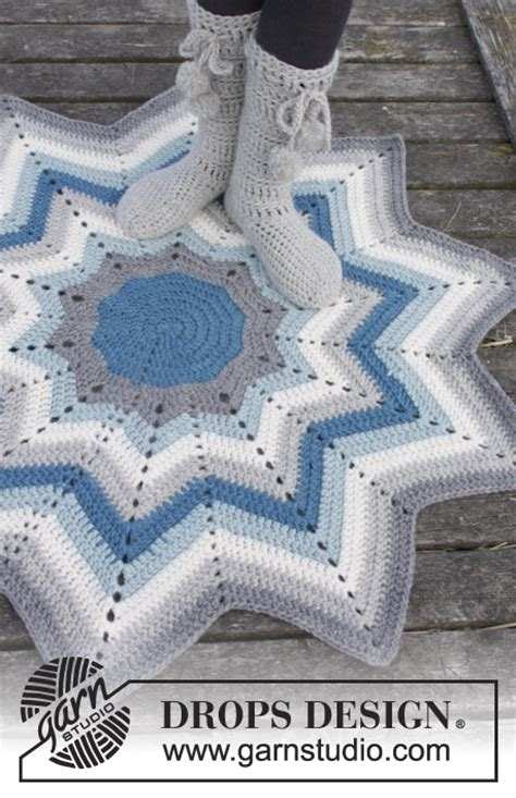 crochet pattern for zig zag rug pole star drops 163 12 crochet drops rug with stripes