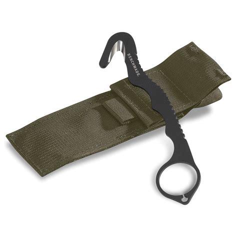 benchmade hook benchmade rescue hook 8 blkwadc knivar equipt se