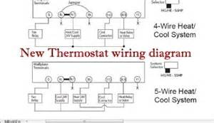 wiring for new thermostat heating amp air conditioning