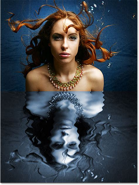 tutorial photoshop reflection effect water reflection effect in photoshop cs6