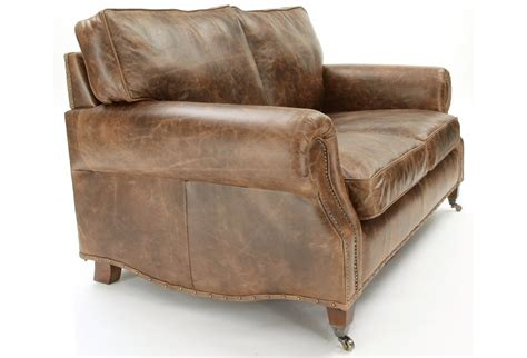Hepburn Sofa by Hepburn Vintage Leather 2 Seat Sofa From Boot Sofas