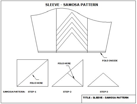 pattern making of katori blouse easy2stitch how to stitch katori blouse in samosa