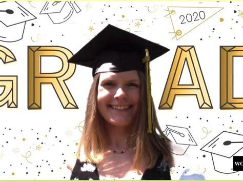 graduation zoom backgrounds  bring   pop  circumstance   virtual ceremony