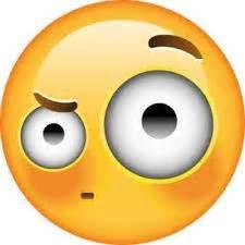 high resolution omg face emoji shocked  scared