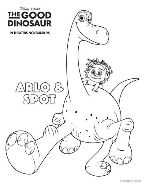 spot templates free printable disney the dinosaur arlo spot