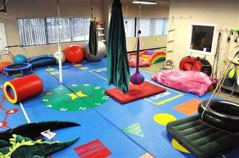 therapy room rehabilitation clinic walenstadtberg autism therapy sensory gym therapy ot pt ideas games