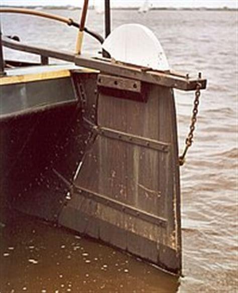 heeft een roeiboot een roer roer