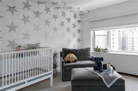 grey wallpaper for nursery 21 gorgeous gray nursery ideas