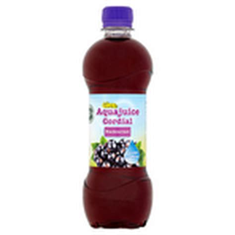 Aqua Juicer calories in calypso aqua juice cordial blackcurrant 500ml nutrition information nutracheck