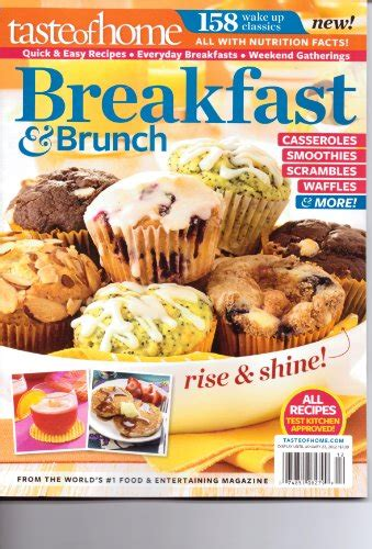 breakfast brunch magazine by taste of home 158 up