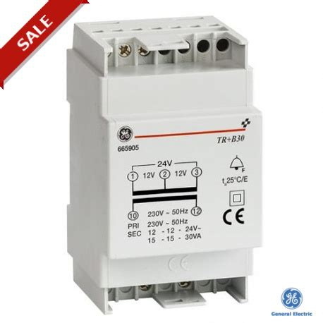 Trafo Bell tr b30 001 665905 general electric bell trafo series 30va