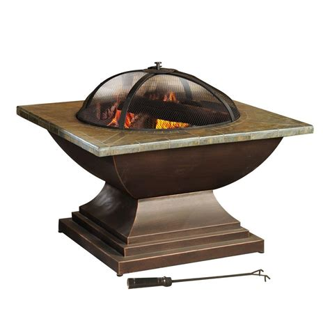 tiki clean burn small bronze tabletop pit 1114152