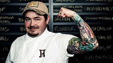 sean brock tattoo what does brock up his sleeve hint a new