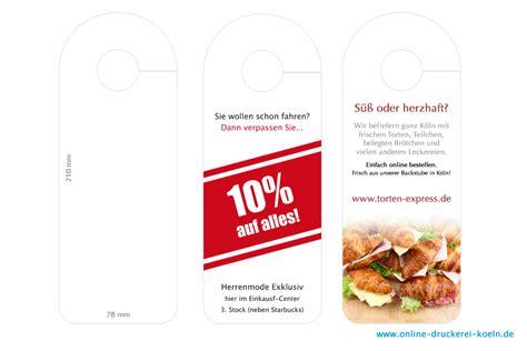 Online Druckerei by T 252 Ranh 228 Nger 78 X 210 Mm Auf 250g Papier Bei Onlinedruckerei