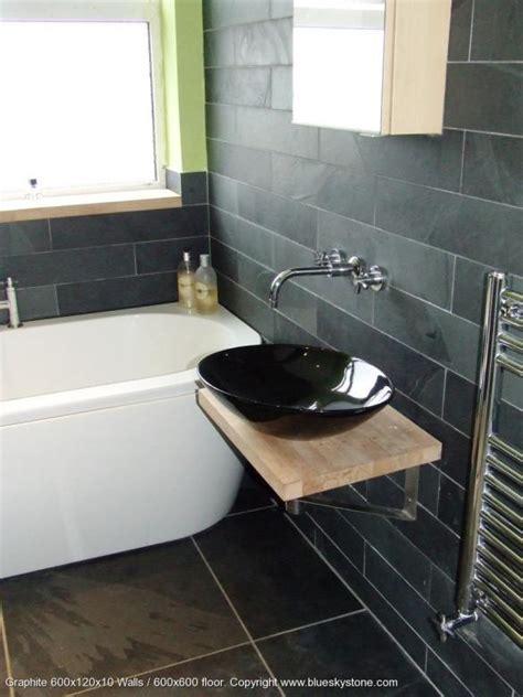 35 black slate bathroom wall tiles ideas and pictures slate bathroom wall tiles best home design 2018