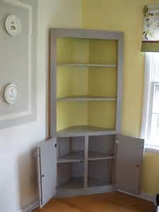 Dining Room China Cabinet Hutch ana white cute corner cabinet diy projects