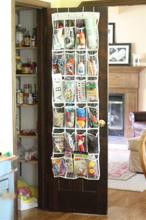 The Door School Supply Organizer by 24 Back To School Organization Ideas